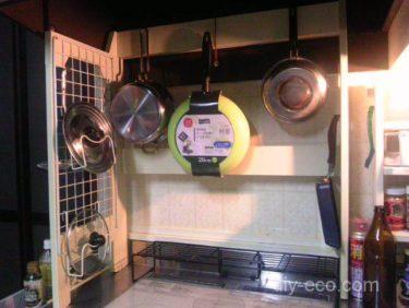 キッチン棚の制作DIY